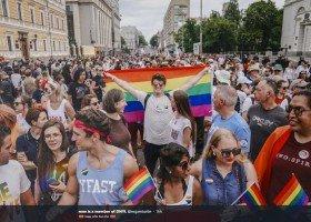 Kijów: rekordowa liczba osób na paradzie Pride