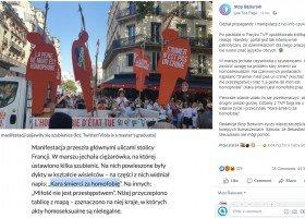 Niebezpieczny, homofobiczny fake news w TVP Info