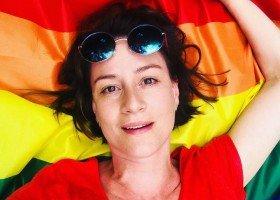 Maja Ostaszewska po raz kolejny wspiera osoby LGBT+