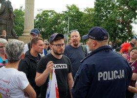 Kielce: Zatrzymano dwóch uczestników Marszu Równości - co się stało