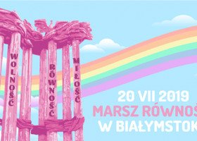 W sobotę odbędzie się pierwszy Marsz Równości w Białymstoku!