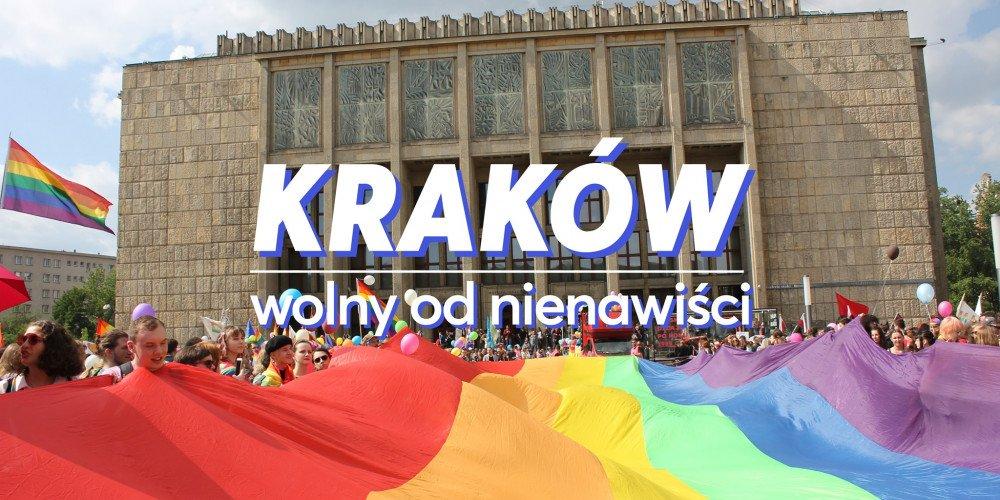 W czwartek wieczór solidarności ze społecznością LGBT+ w Krakowie