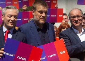 Biedroń nie będzie kandydować w wyborach, zostanie szefem sztabu Lewicy