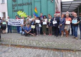 W Olkuszu odbyła się demonstracja przeciwko Jędraszewskiemu