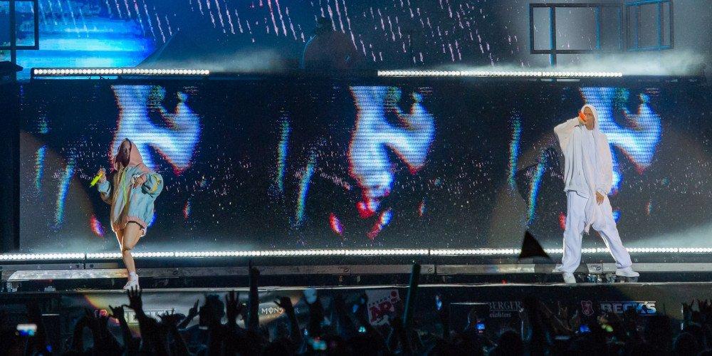 Die Antwoord dopuściło się homofobicznej napaści na członku Hercules and Love Affair?