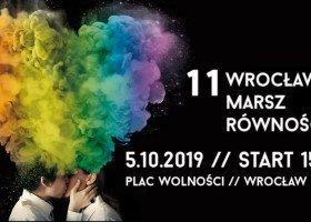Wrocław zaprasza na Marsz Równości pięknym plakatem