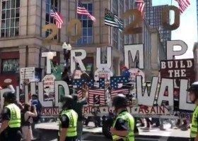"""Parada """"dumy hetero"""" w Bostonie wiecem na cześć Trumpa?"""