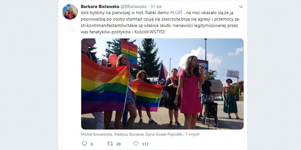 W Rabce-Zdroju odbył się pierwszy, kameralny Marsz Równości
