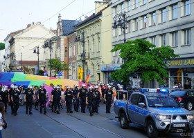 Śląska policja chce przełożenia terminu meczu przez Marsz Równości w Katowicach