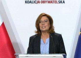Kidawa-Błońska kandydatką KO na stanowisko premierki