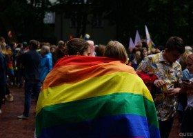 """Marsz Równości w Toruniu """"dla życia i rodziny"""""""
