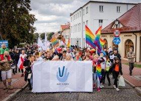 Kilkaset osób wzięło udział w Marszu Tolerancji w Koninie