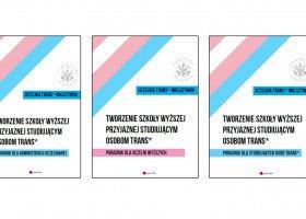"""Nowa publikacja Queer UW """"Uczelnia trans*-inkluzywna"""" już dostępna"""