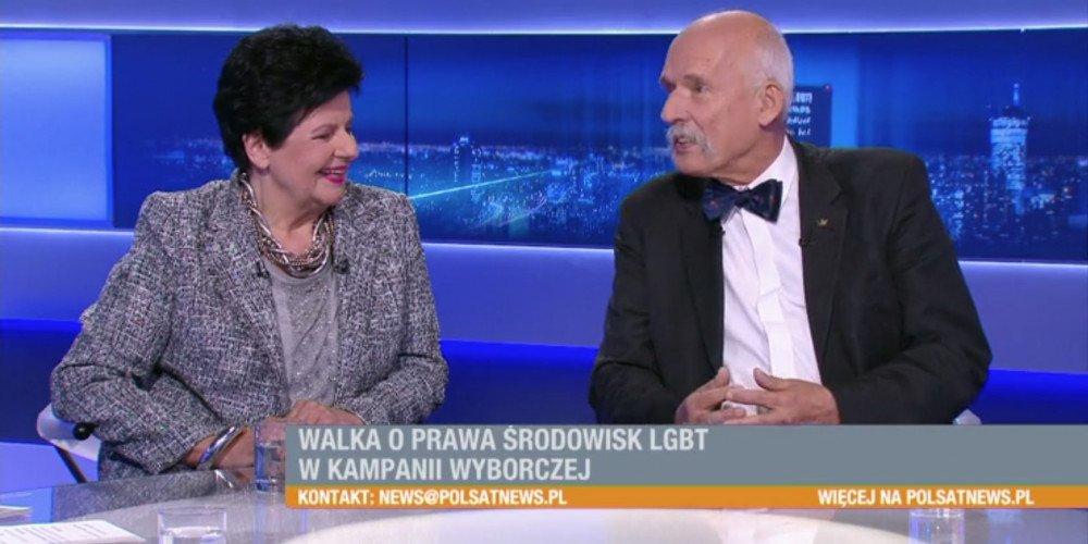 Korwin-Mikke: LGBT jest znacznie groźniejsze niż zagrożenie klimatyczne
