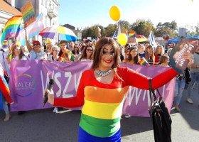 Prawie 500 osób na I Marszu Równości w Kaliszu