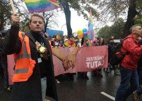 Pierwszy Marsz Równości w Nowym Sączu zgromadził 400 osób!