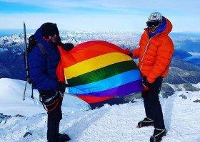 Zdobywają Koronę Ziemi, aby zwrócić uwagę na sytuację osób LGBT+ na świecie