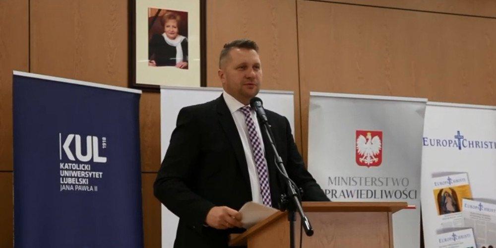 Przemysław Czarnek: zawsze będę przeciwnikiem promocji zboczeń, dewiacji i wynaturzeń