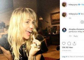 Miley Cyrus: nie musicie być homo, na świecie są dobrzy faceci, musicie ich tylko znaleźć
