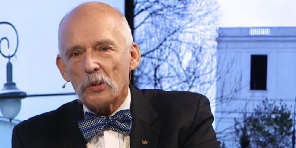 """Korwin-Mikke zapowiada złożenie projektu ustawy """"anty-LGBT"""""""