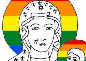 Częstochowska prokuratura wznawia postępowanie ws. tęczowej Matki Boskiej