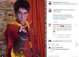 Drag queen Phi Phi O'Hara wcielała się przez miesiąc w postacie z Harry'ego Pottera