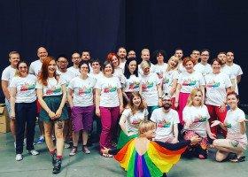Queerowizja, czyli 5-lecie krakowskiego chóru LGBTQ