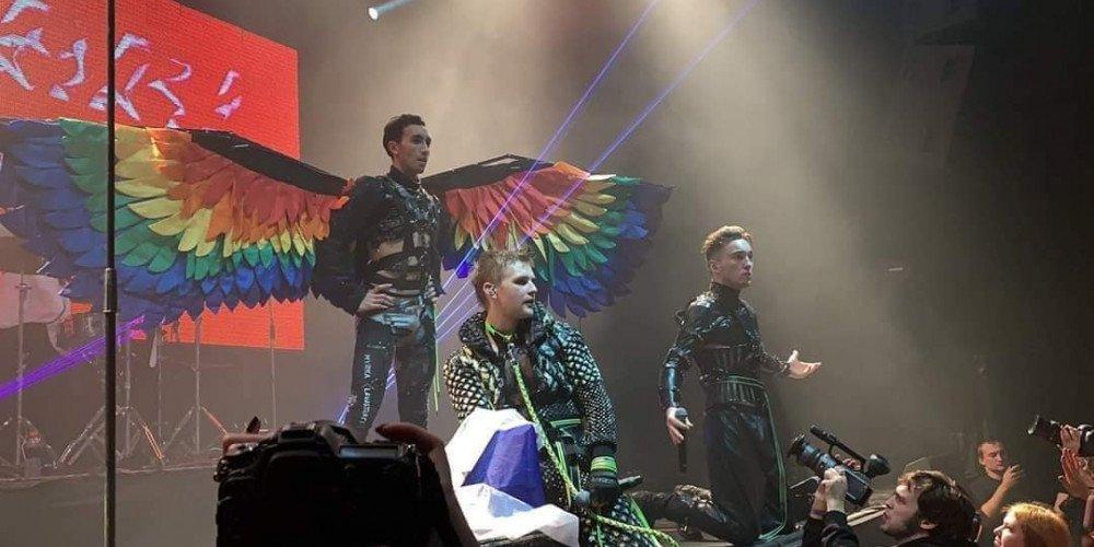 Hatari na koncercie w Rosji solidaryzuje się z osobami LGBTQ
