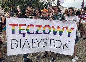 Stowarzyszenie Tęczowy Białystok zdobyło nagrodę im. prof. Zbigniewa Hołdy