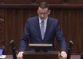 """Morawiecki w trakcie swojego expose obiecuje ochronę dzieci przed """"ideologią"""""""