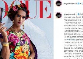 """Pierwszy raz w historii na okładce """"Vogue'a"""" znalazła się osoba trzeciej płci"""