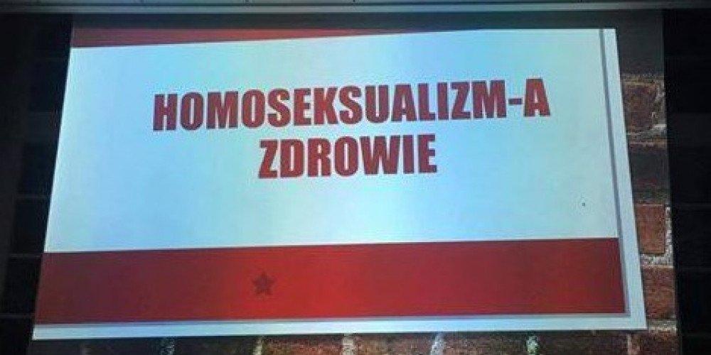 """""""Homoseksualizm niezgodny z naturą"""" - wykład na Śląskim Uniwersytecie Medycznym"""