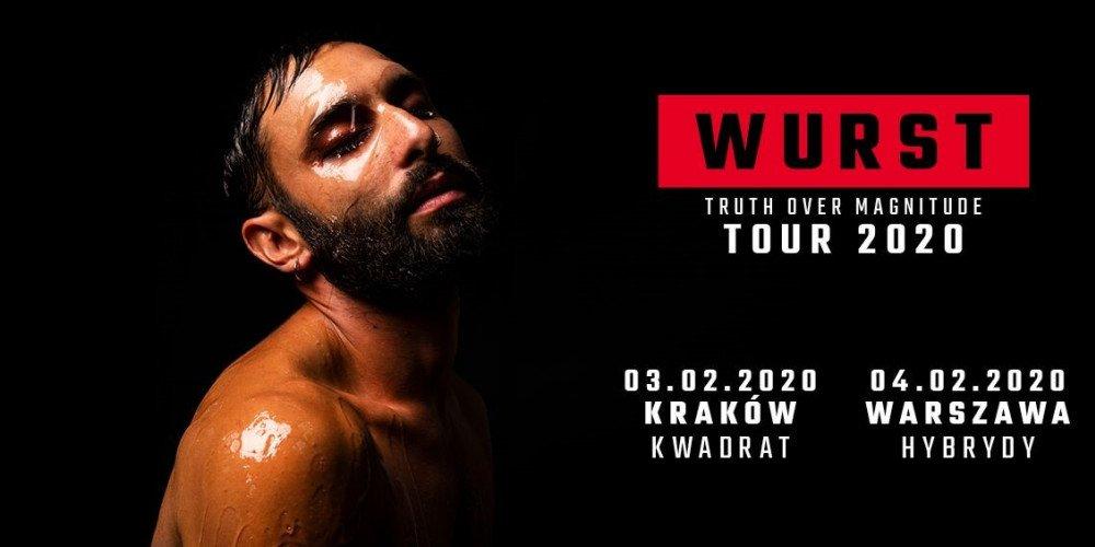 WURST - zwycięzca Eurowizji 2014 zaprasza na koncerty do Warszawy i Krakowa