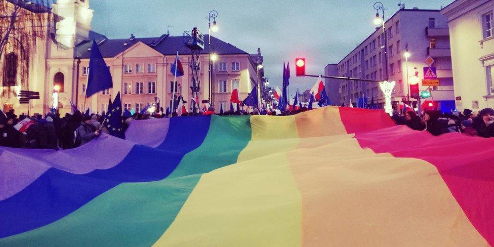 W Warszawie odbyła się demonstracja w obronie niezawisłości sądownictwa
