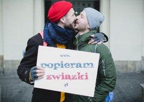 Strefa miłości na Placu Zbawiciela z okazji Walentynek