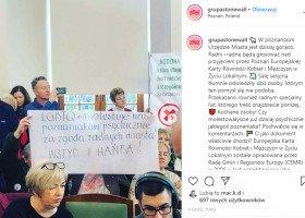 Poznań: LGBTQ+ molestuje nas psychicznie za zgodą radnych