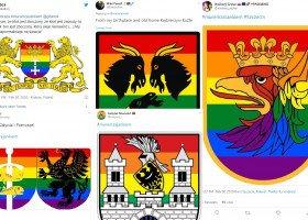 """Internet solidaryzuje się z nastolatkiem, który """"zatęczowił"""" herb Jordanowa"""