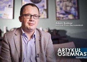 Adam Bodnar wygłosił w Senacie sprawozdanie z urzędu RPO