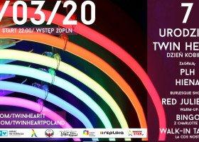 Dzień Kobiet z Twin Heart: rozdajemy wejściówki na imprezę w Warszawie