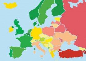 Polska spada w rankingu Tęczowej Mapy Europy