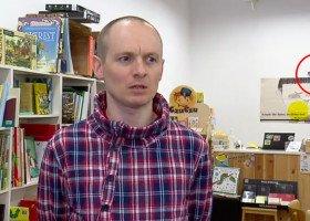 TVP cenzuruje tęczową flagę w materiale o bydgoskiej księgarni
