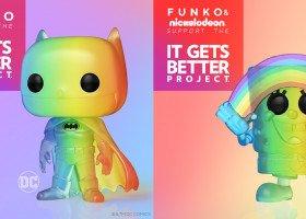 Znane figurki z dużymi głowami będą wspierać LGBT+