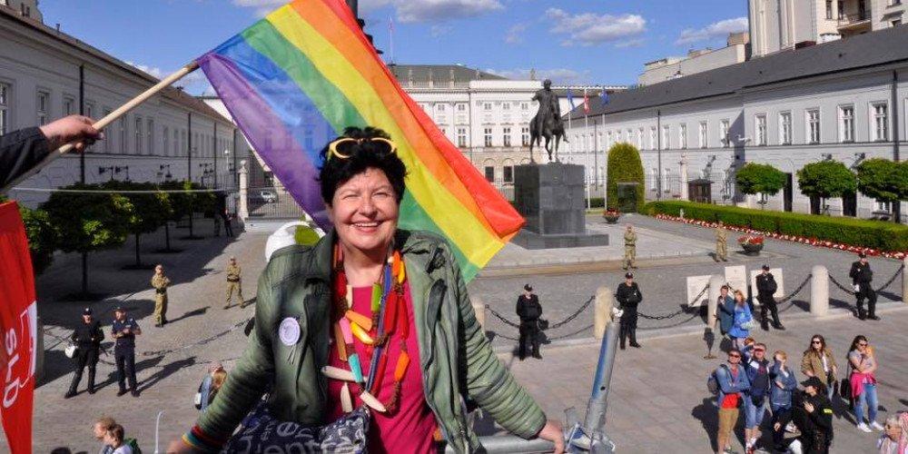 Senyszyn do Trzaskowskiego: swoimi decyzjami zawodzi pan osoby LGBT+