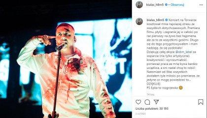 Raper Białas przeprasza za swoją homofobię?