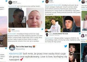 Hasztag #jestemLGBT wśród najpopularniejszych na polskim Twitterze