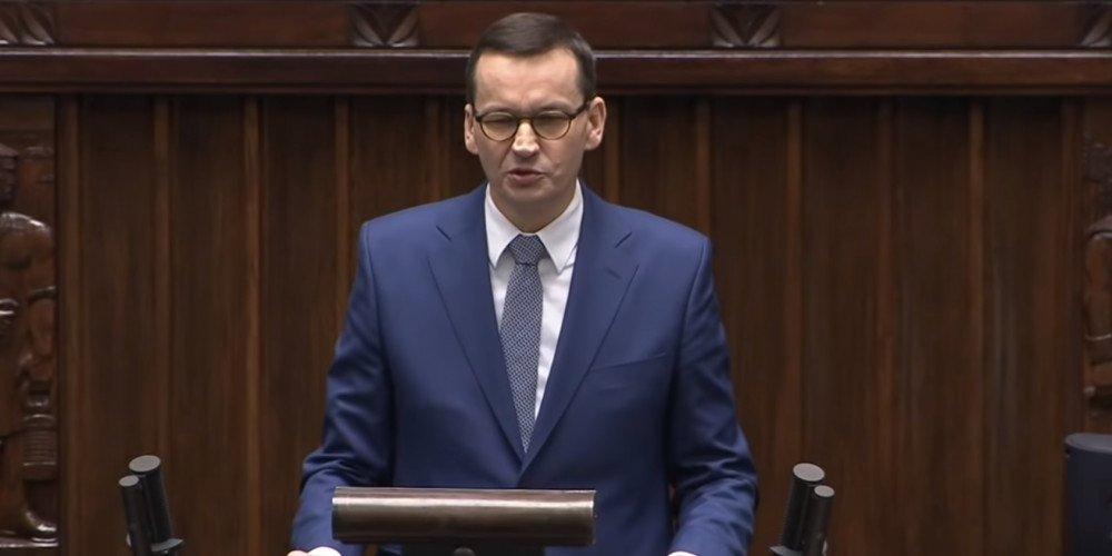"""Morawiecki: Rabiej i Trzaskowski chcą atakować polskie """"rodziny"""""""