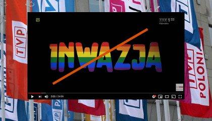 """Sąd nakazał TVP usunięcie """"Inwazji"""" z platformy YouTube"""