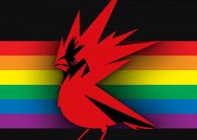 Z okazji miesiąca dumy CD Projekt zmienia logo na tęczowe