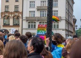 Manifestacje przeciwko homofobii w kilku polskich miastach