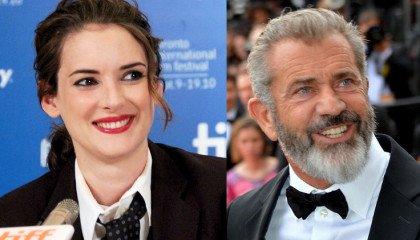 Winona Ryder oskarża Mela Gibsona o homofobię, on ją o kłamstwo